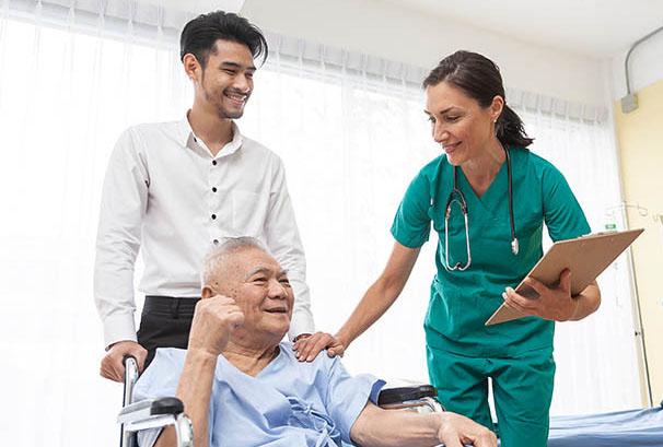Tham gia bảo hiểm nhân thọ để có cơ hội được điều trị ở viện quốc tế